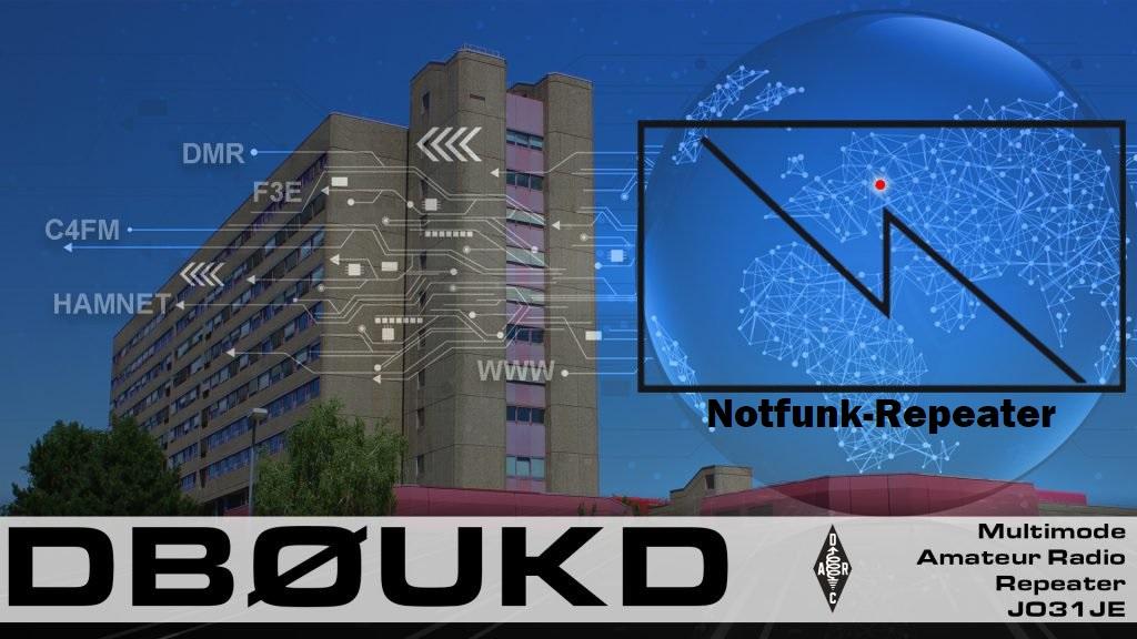 Notfunk über DB0UKD